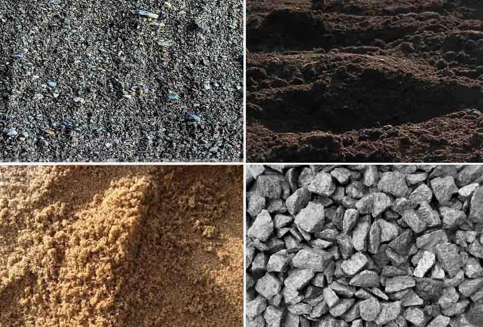№6945 Доставка, песок, щебень, чернозем