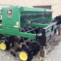 №7843 Сеялка. Сеялка зерновая механическая Джон Дир 750  4,6 м. Сеялка с мелкосемянкой.