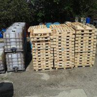 №10320 Европоддоны деревянные, пластиковые. Промтара