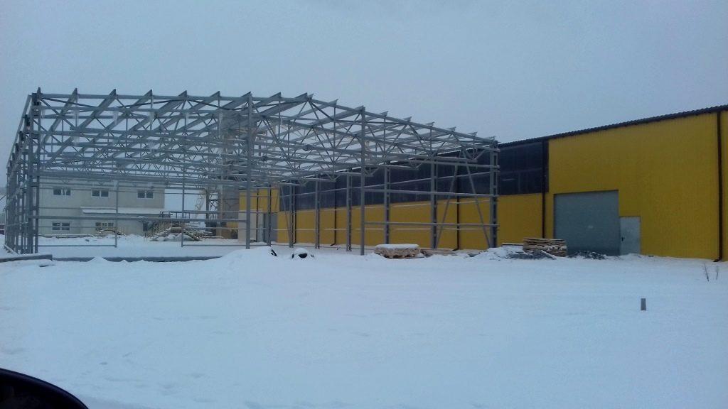 №14361 Проектування та монтаж металоконструкцій