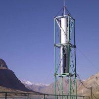 №14768 Вертикальный Ветрогенератор Модель  VAWT DPV HYBRID MAXI