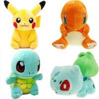 №14844 Покемоны игрушки, купить покемона Пикачу, Чермандер покемон, Сквиртл, Бульбазавр и др.