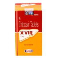 №16326 X-Vir (аналог Baraclude) для лечения хронического гепатита В,