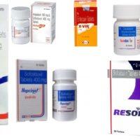 №15881 Лекарства от гепатита В и С. Дженерики. Даклатасвир, Софосбувир.