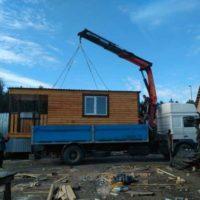 №16472 Аренда крана манипулятора на базе 10 тонного грузовика