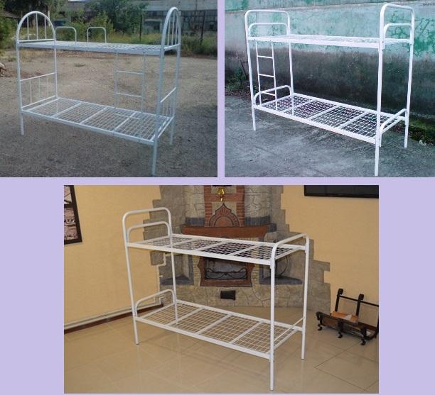 №17088 Кровати двухъярусные. Металлическая кровать недорого.