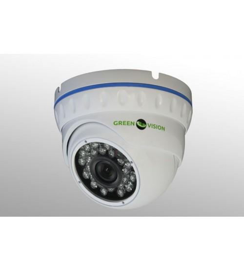 №17789 Видео Комплект Відеоспостереження ІР 1.4 Мп Green Vision