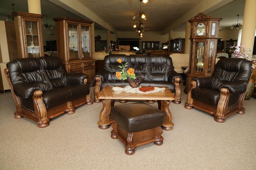 №17876 Новая кожаная мебель с Европы (кожаный диван, кресло или угловой диван