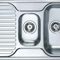 №19185 Кухонная мойка Teka PRINCESS 1 1/2 B 1D микротекстура