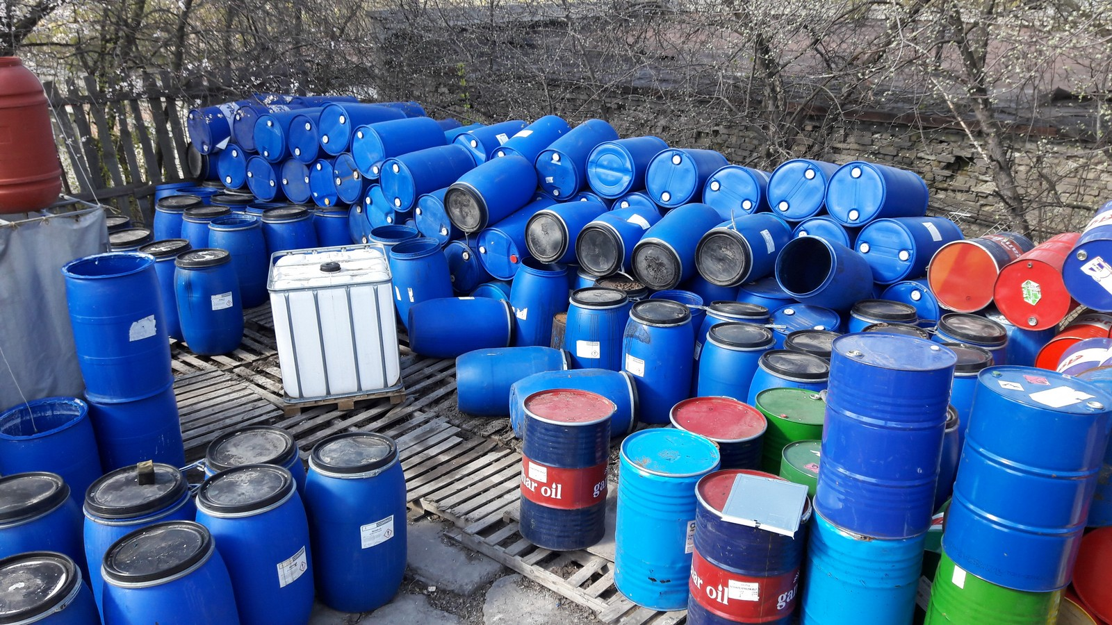 №21338 Продам бочки пластиковые 200л в хорошем состоянии Харьков
