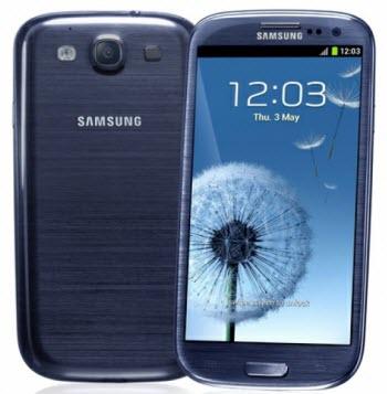 №203 Samsung Galaxy I 9100 SIII Blue