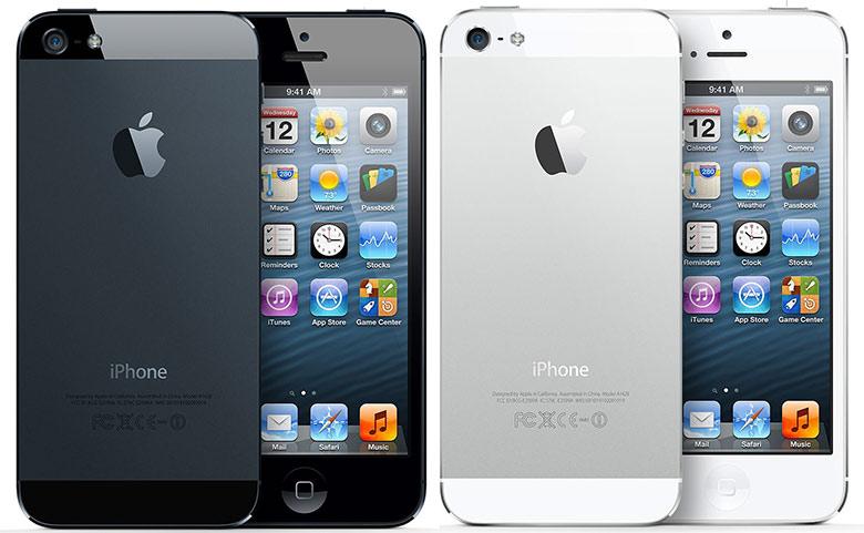 №209 IPhone 5S Black/White