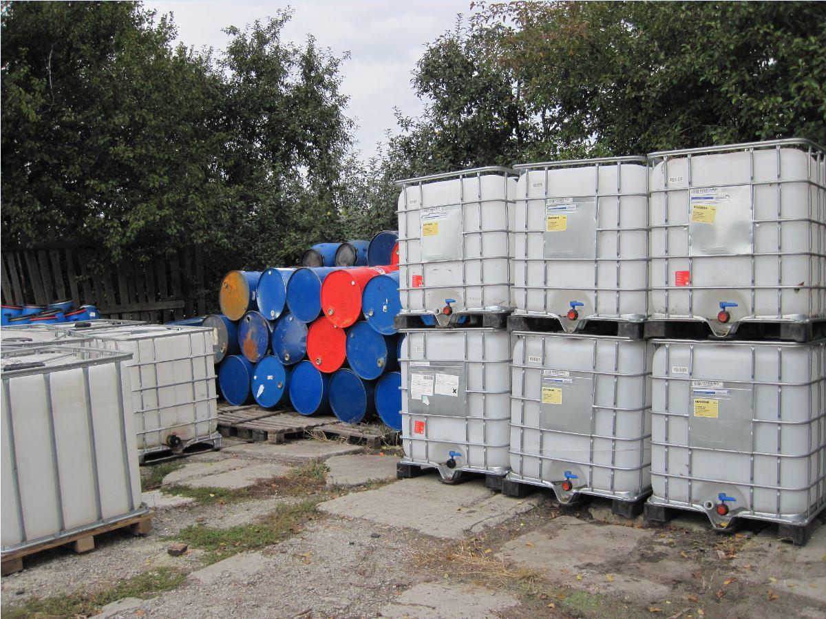 №412 Еврокуб ( IBC-контейнер ) 1000 л, европоддоны, бочки. Евротара-Харьков.