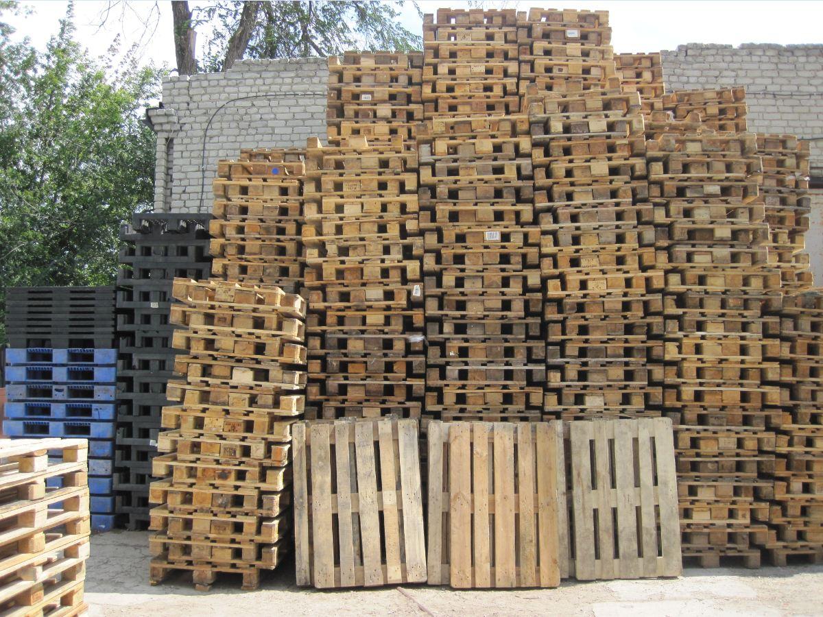№388 Европоддоны деревянные, пластиковые. Евротара-Харьков