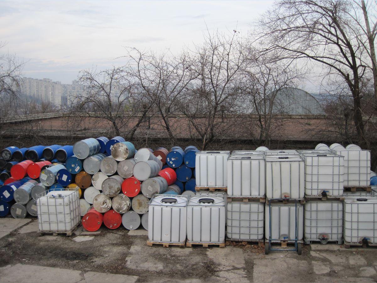№354 Еврокуб ( IBC-контейнер ) 1000 л, европоддоны, бочки. Евротара-Харьков.