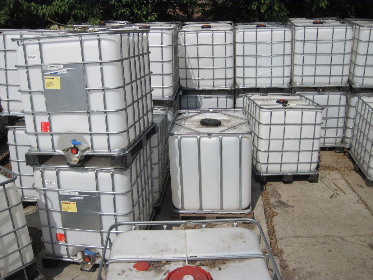 №2620 Еврокуб ( IBC-контейнер ) 1000 л, европоддоны, бочки. Евротара-Харьков.