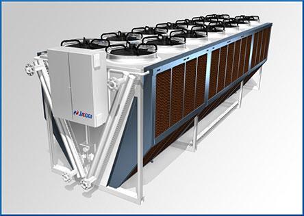 №4289 Драйкулеры, сухие градирни, воздушные охладители жидкости, теплообменное оборудование GUNTNER.