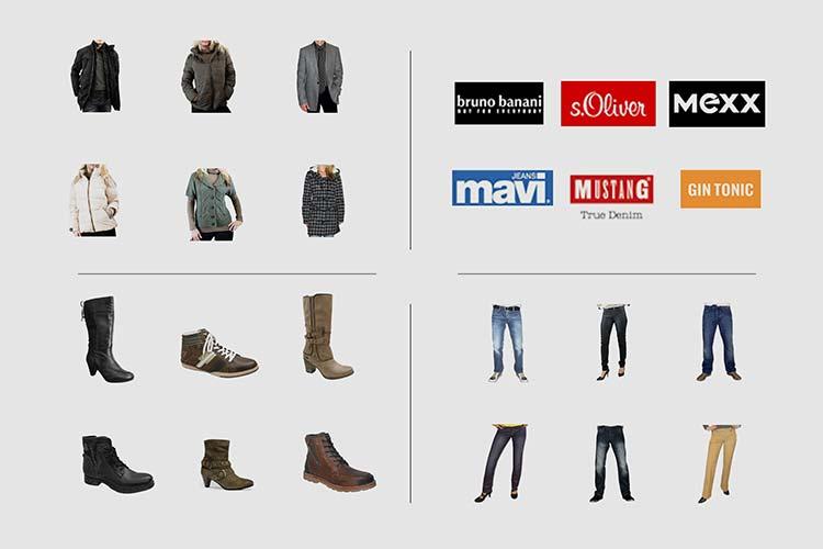 №5606 3.888 единиц новой брендовой одежды и обуви с Германии