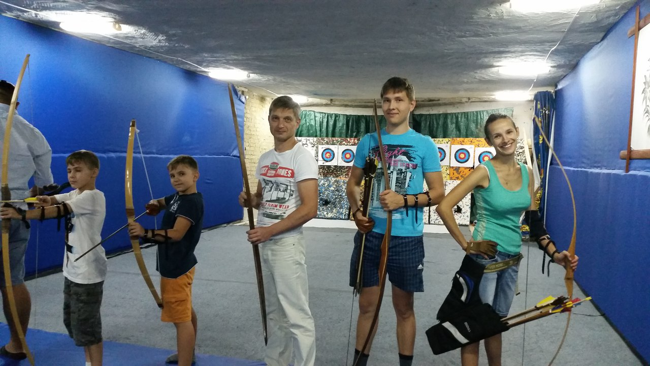 Лучный тир «Лучник», Archery Club, Стрельба из лука Киев