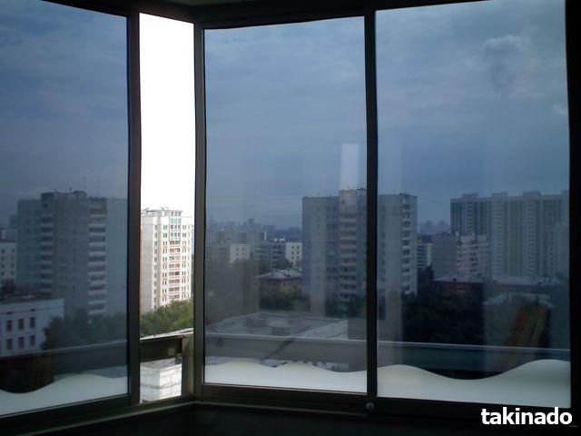 №8156 Тонирование окон и стеклянных поверхностей. Киев