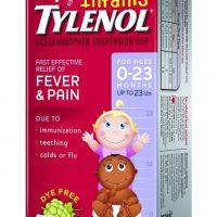 №10463 Детский Тайленол сироп, лекарство от температуры для детей Тайленол