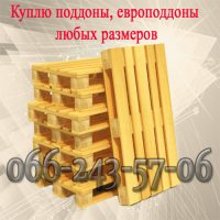 Куплю б/у поддоны — высокие цены, Харьков