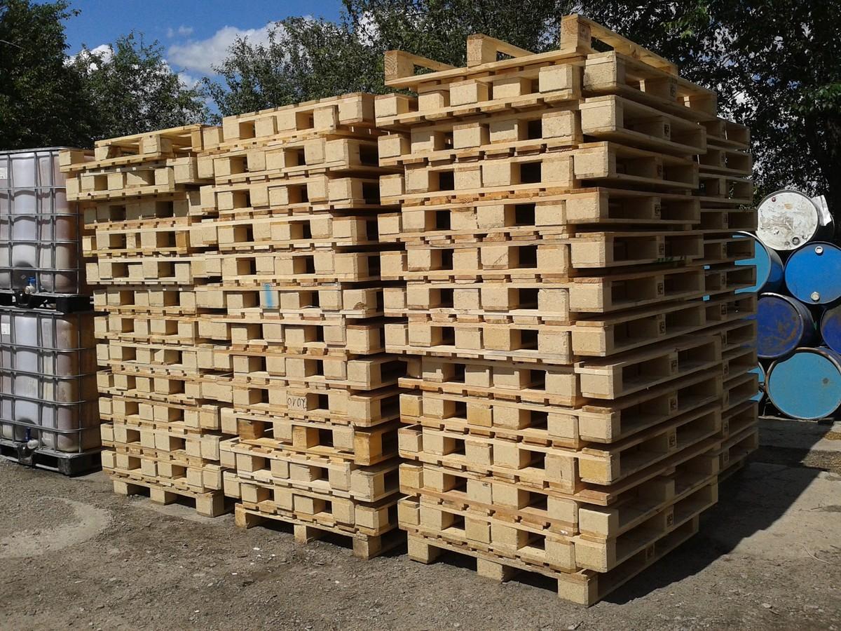 №12312 Европоддоны деревянные, пластиковые. Промтара-Харьков.