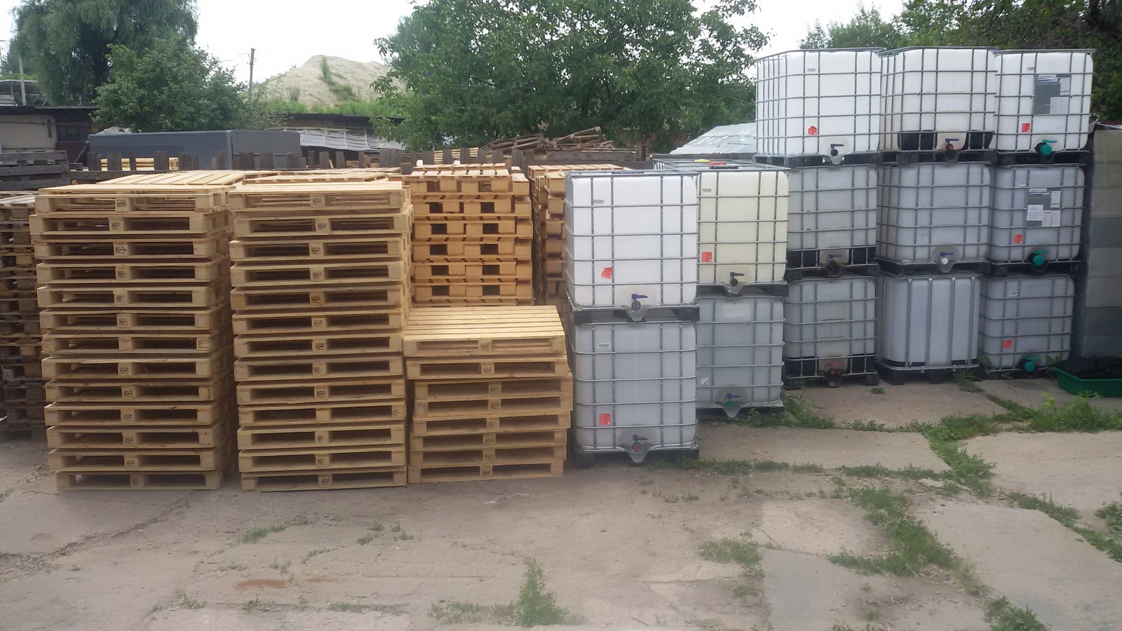№12451 Поддон 1000х1200 новый. Евротара-Харьков