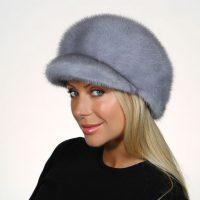 №12173 Женская норковая шапка по привлекательной цене!