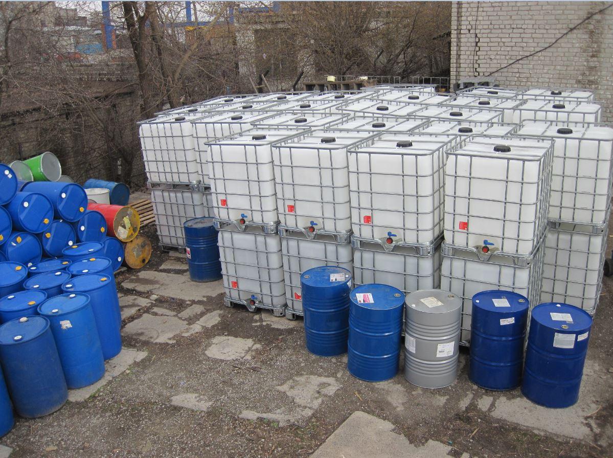 №12446 Еврокуб ( IBC-контейнер ) 1000 л, европоддоны, бочки. Евротара-Харьков.