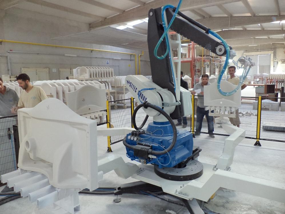 №13076 Оборудование и технологии для производства санфаянса