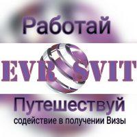 №13425 Cодействие в получении виз разных категорий.Evrosvit