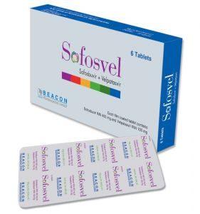 №13432 Лечение гепатита С, Софосвел Sofosvel софосбувир 400мг + велпатасвир 100мг