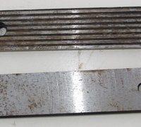 губки тиски станочные 250мм ,новые ,  стальные , закаленные , советских времен , предназначены для закрепления заготовок  при механической обработке на металлорежущих станках. Ремкомплект тиски, тисы