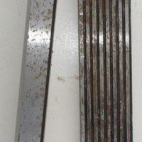№13689 губки тиски станочные 250мм ,новые ,  стальные , закаленные , советских времен , предназначены для закрепления заготовок  при механической обработке на металлорежущих станках. Ремкомплект тиски, тисы