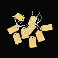 №13560 Ценники для ювелирных изделий, бижутерии оптом