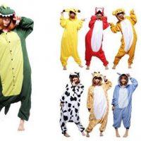 №14496 Пижамы кигуруми для детей и взрослых