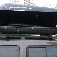 №15007 Автобагажники на крышу, аэробоксы Терадрайв