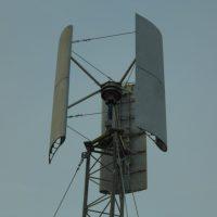 №14764 Вертикальный Ветрогенератор Модель  VAWT DPV HYBRID MINI
