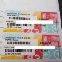 №15138 Продаём оригинальные наклейки, боксы Windows 7 PRO, 8.1 PRO, 10 PRO
