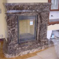 №15433 Камины и порталы из мрамора