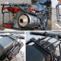 №15739 Багажники для мотоциклов. Мотодуги, рамки.