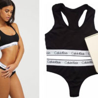 Calvin Klein — Женское белье — Нижнее белье — комплект (трусы +топ)