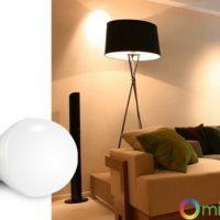 №17425 Умная SMART LED лампа, дистанционное управление 6W E27 RGBW (2700К + RGB)