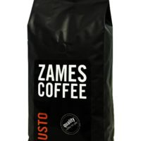 №17881 Кофе в зернах ZAMES Gusto 1 кг   50% Арабики -оптом