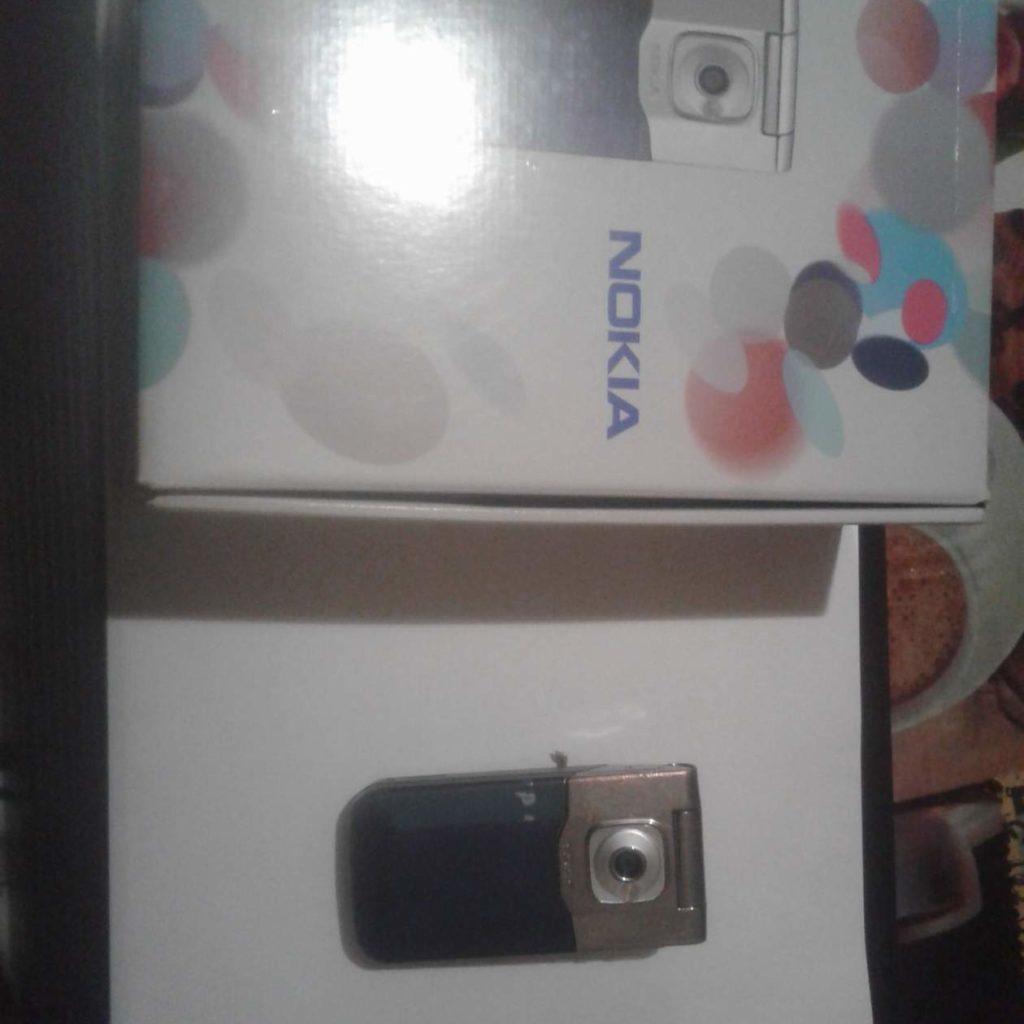 №18309 Телефон Nokia7510 Supernova