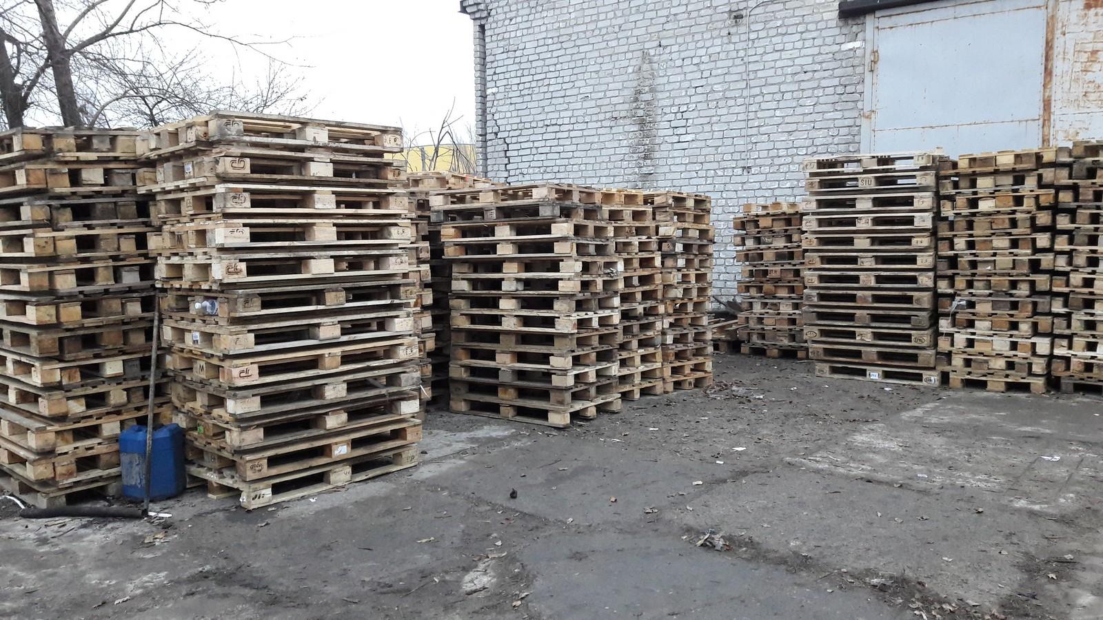 №18428 Европоддоны деревянные, пластиковые. Евротара-Харьков