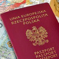 №19064 Паспорт  Польши, Финляндии, Румынии. Гражданство ЕС