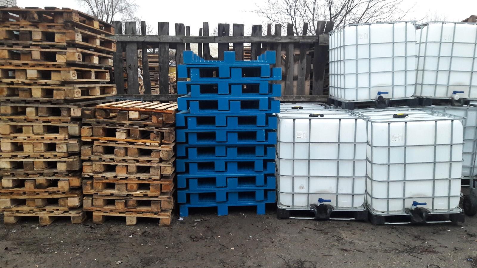 №19010 Еврокуб ( IBC-контейнер ) 1000 л, европоддоны, бочки. Евротара-Харьков.
