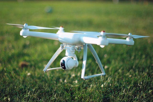 №20108 Аерозйомка квадрокоптером 4К.